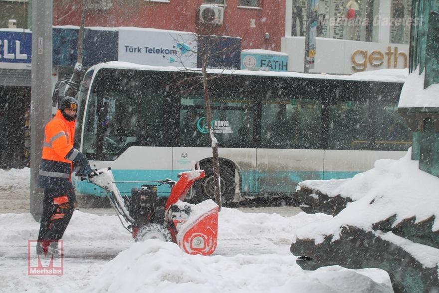 Konya'dan kar manzaraları [37 FOTO] 26