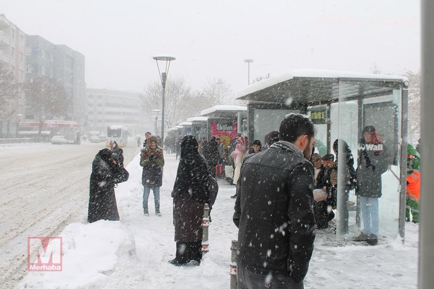 Konya'dan kar manzaraları [37 FOTO] 31