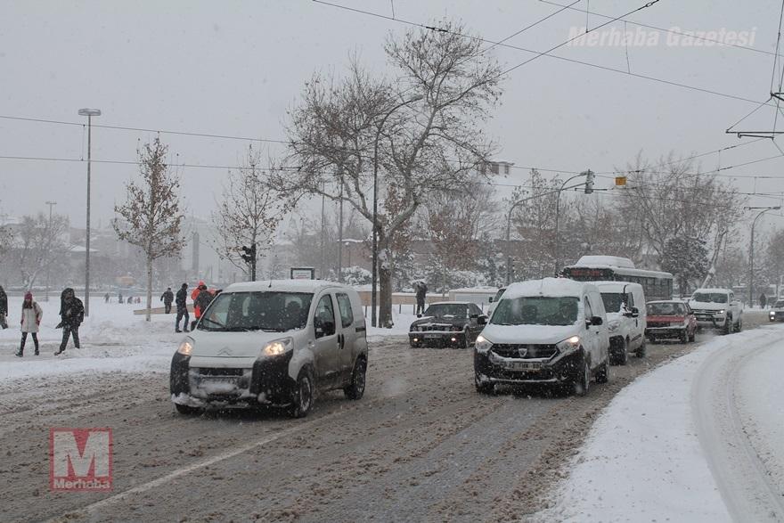 Konya'dan kar manzaraları [37 FOTO] 34