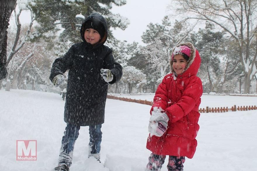 Konya'dan kar manzaraları [37 FOTO] 36