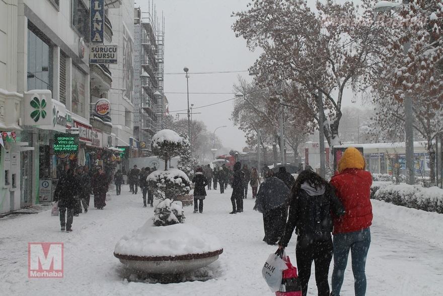 Konya'dan kar manzaraları [37 FOTO] 37