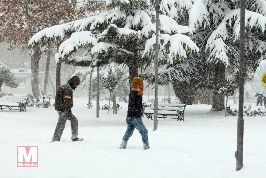 Konya'dan kar manzaraları [37 FOTO] 4