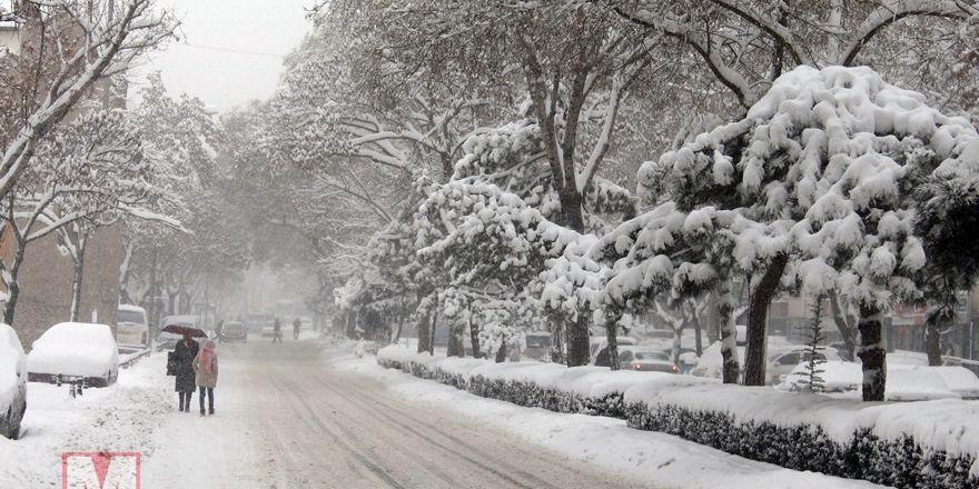 Konya'dan kar manzaraları [37 FOTO]