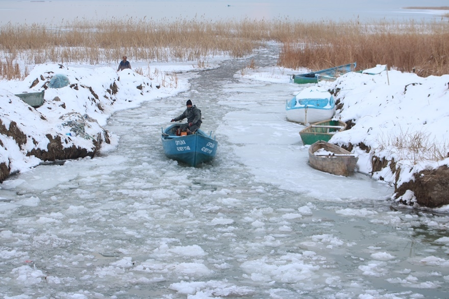 """Beyşehir Gölü'nde """"kartpostallık"""" manzaralar 12"""