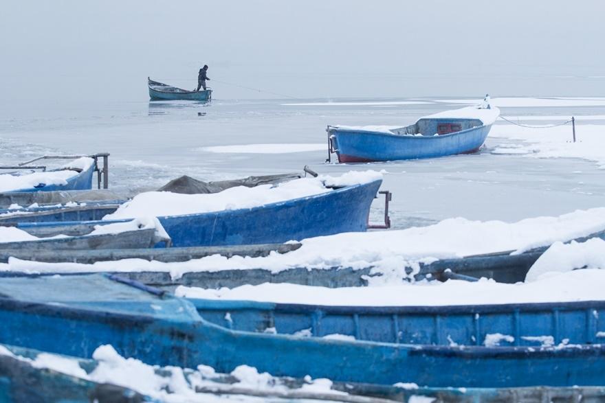 """Beyşehir Gölü'nde """"kartpostallık"""" manzaralar 21"""