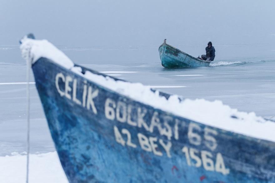 """Beyşehir Gölü'nde """"kartpostallık"""" manzaralar 22"""