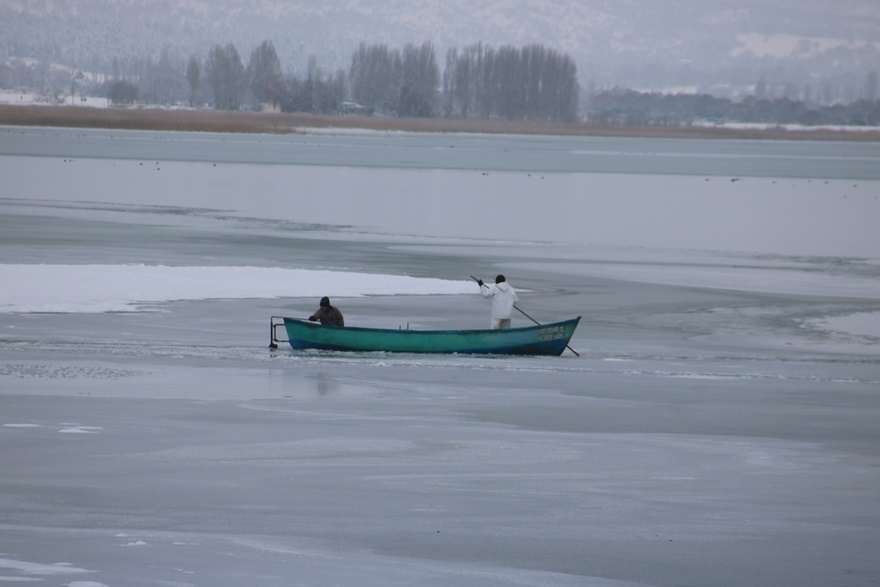 """Beyşehir Gölü'nde """"kartpostallık"""" manzaralar 4"""