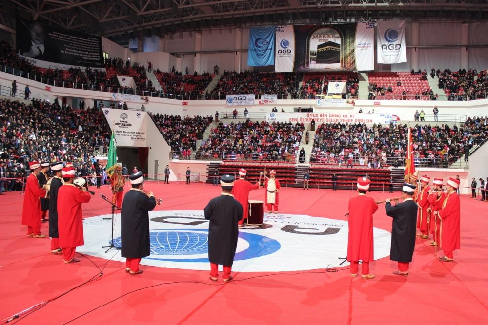 Konya'da Mekke'nin Fethi programı gerçekleşti 37