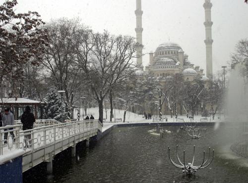 Konyadan kar manzaraları 1