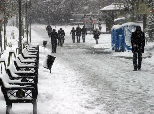 Konyadan kar manzaraları 3