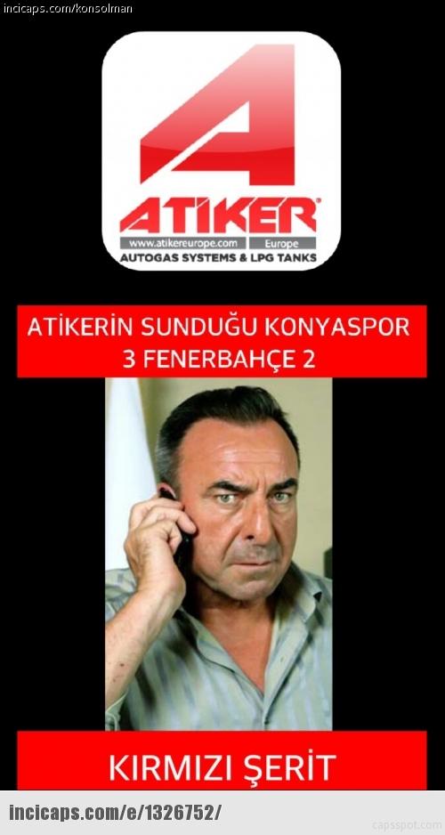 Fenerbahçe-Konyaspor maçı sonrası Caps'ler 3