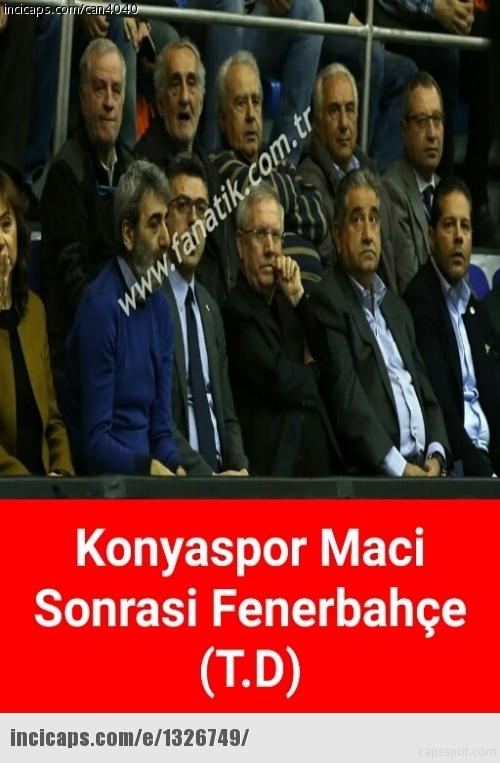 Fenerbahçe-Konyaspor maçı sonrası Caps'ler 5
