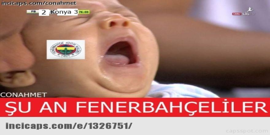 Fenerbahçe-Konyaspor maçı sonrası Caps'ler