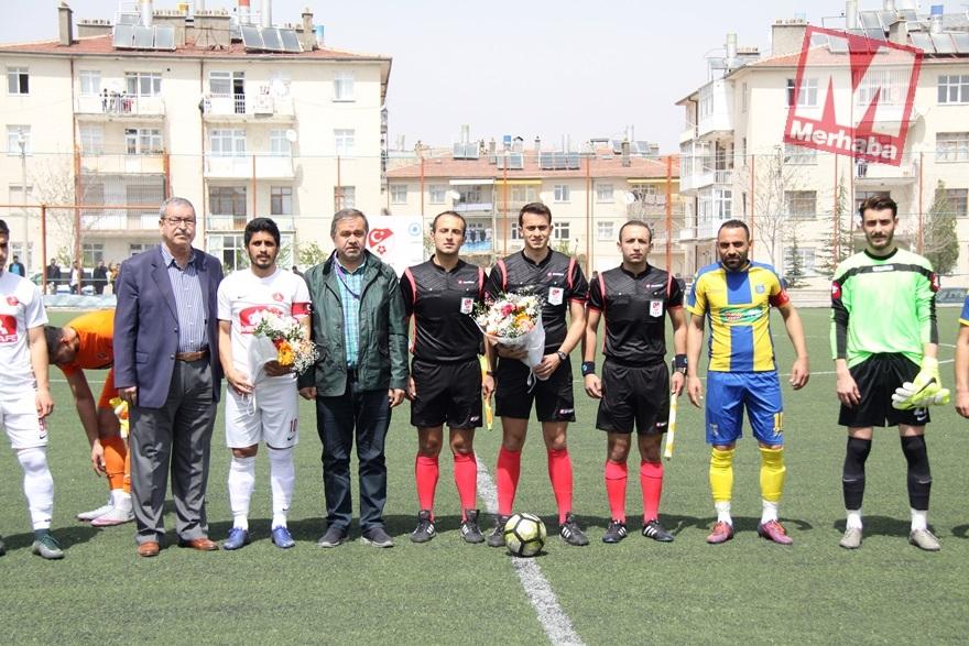 Akşehir Bölgesel Amatör Ligde devam dedi 8