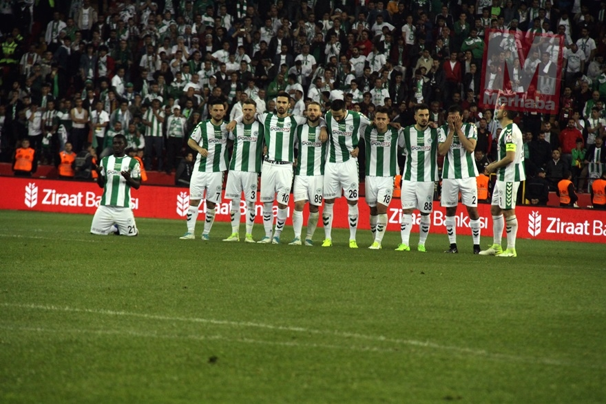Konyaspor'un kupa yolculuğu 20