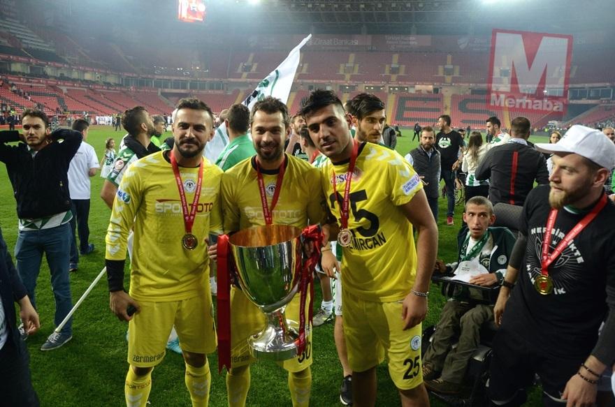 Konyaspor'un kupa yolculuğu 18