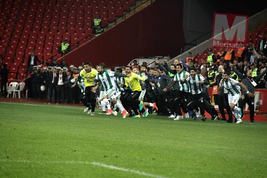 Konyaspor'un kupa yolculuğu 21