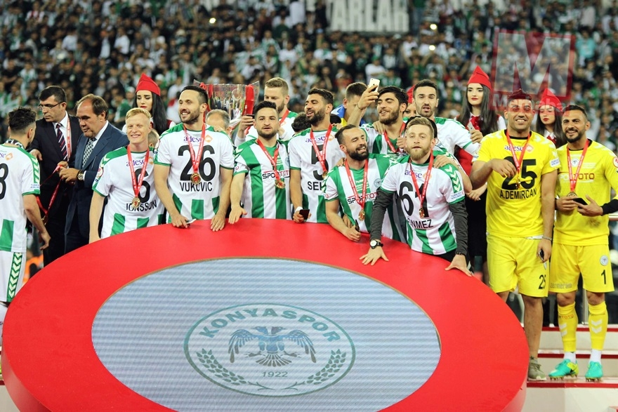 Konyaspor'un kupa yolculuğu 25