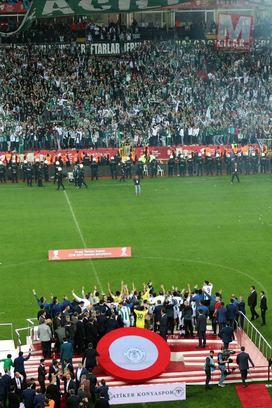 Konyaspor'un kupa yolculuğu 60