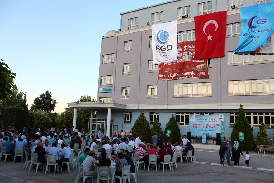 MGV ve AGD Konya 13. Mezunlar buluşması gerçekleştirildi 2