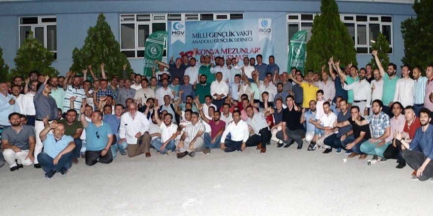 MGV ve AGD Konya 13. Mezunlar buluşması gerçekleştirildi