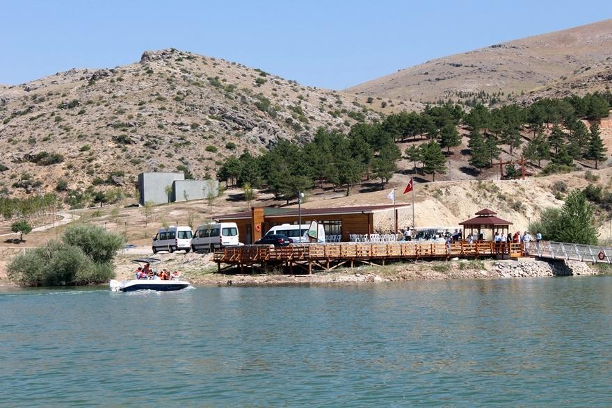 Sille Barajı kullanıma açıldı 14