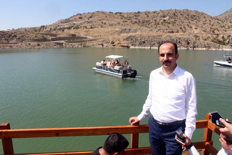Sille Barajı kullanıma açıldı 17