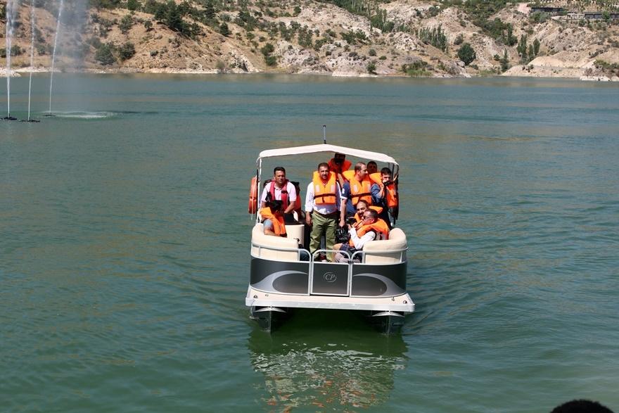 Sille Barajı kullanıma açıldı 18