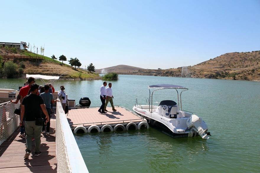Sille Barajı kullanıma açıldı 4