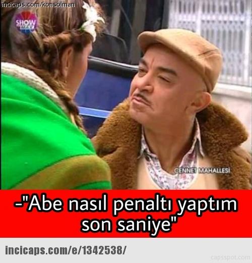 Beşiktaş-Konyaspor maçı sonrası Caps'ler 10