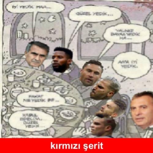 Beşiktaş-Konyaspor maçı sonrası Caps'ler 13