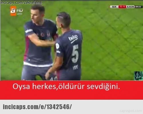 Beşiktaş-Konyaspor maçı sonrası Caps'ler 15