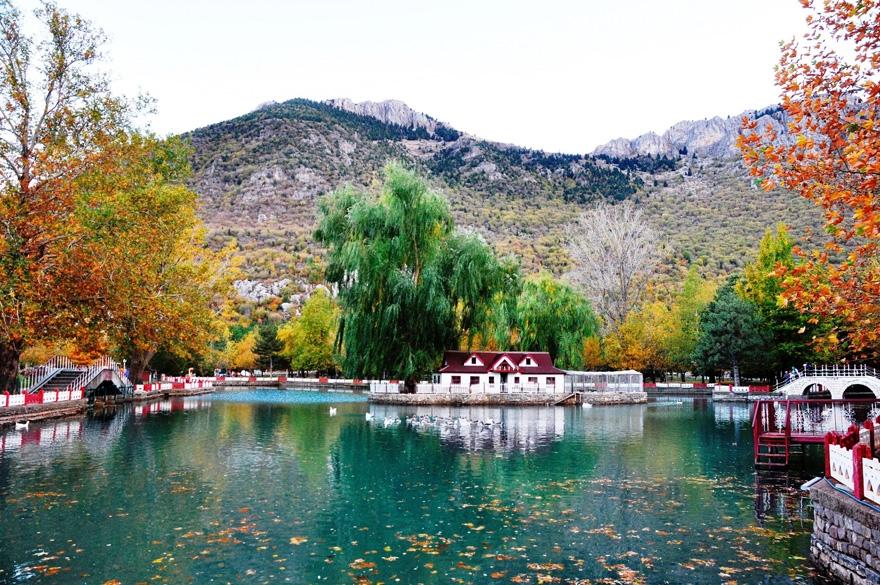 Seydişehir Kuğulu Park'ta kartpostallık görüntüler 3