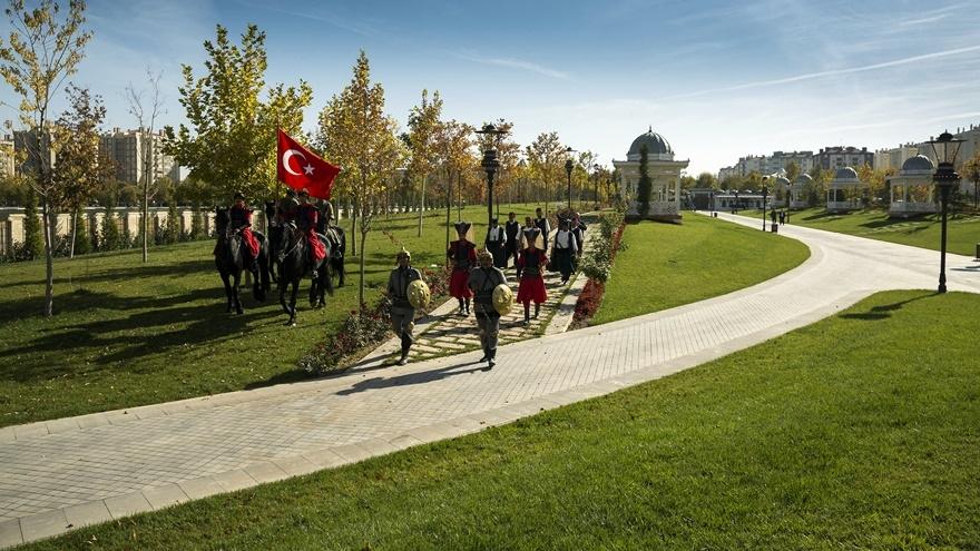 Selçuklu ve Osmanlı dönemi bu parkta yaşatılıyor 10