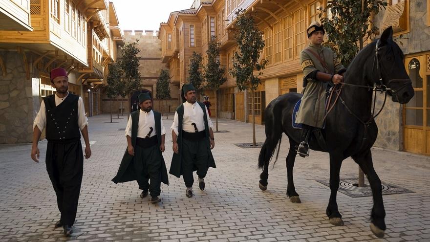 Selçuklu ve Osmanlı dönemi bu parkta yaşatılıyor 15