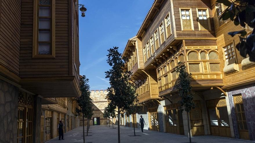 Selçuklu ve Osmanlı dönemi bu parkta yaşatılıyor 18