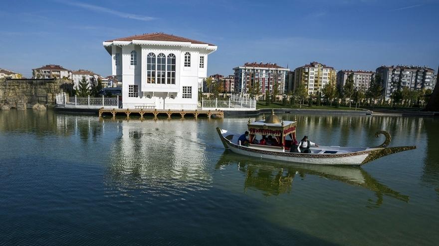 Selçuklu ve Osmanlı dönemi bu parkta yaşatılıyor 21