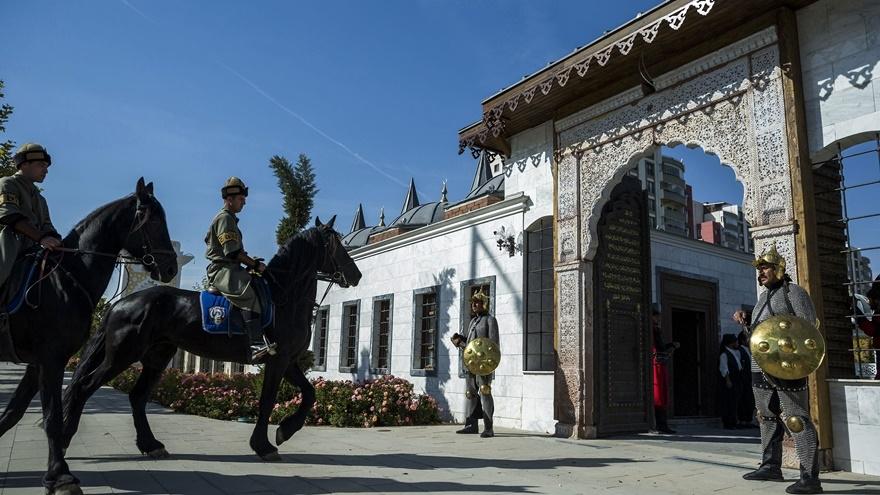 Selçuklu ve Osmanlı dönemi bu parkta yaşatılıyor 5