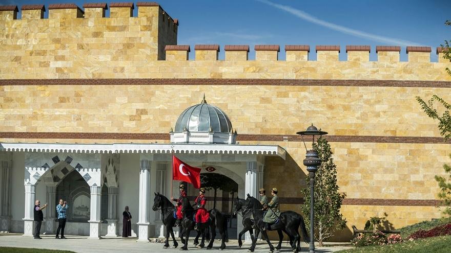 Selçuklu ve Osmanlı dönemi bu parkta yaşatılıyor 7
