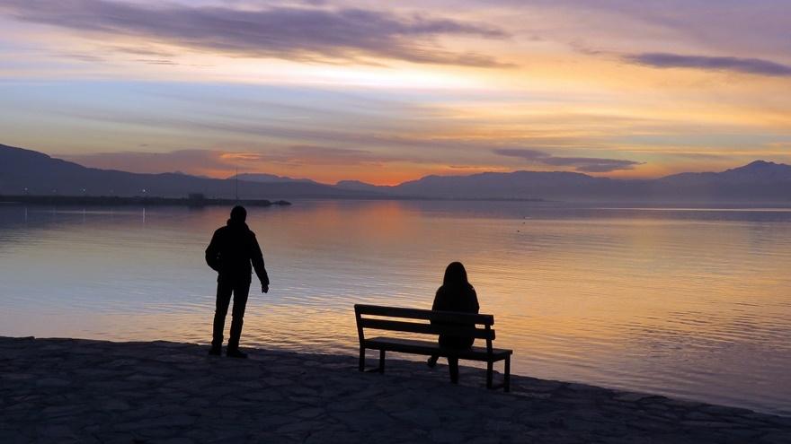 Beyşehir Gölü'nde günbatımı kartpostallık görüntüler oluşturduKaynak: Be 3