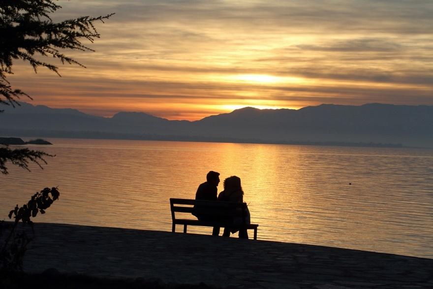 Beyşehir Gölü'nde günbatımı kartpostallık görüntüler oluşturduKaynak: Be 4