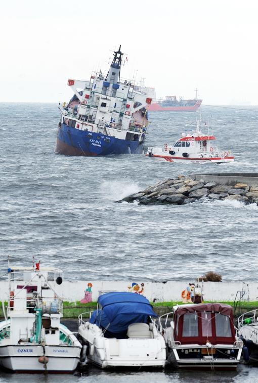 Gemi kurtarma çalışmaları böyle devam ediyor 4