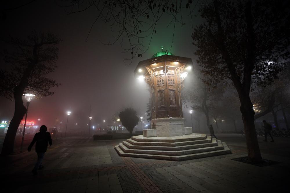 Konya'da sis 1