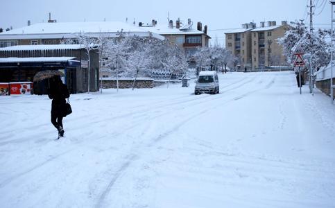 Konyadan kar manzaraları 2