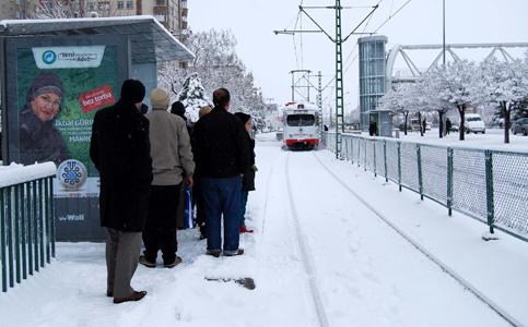 Konyadan kar manzaraları 4