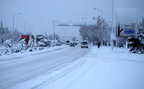 Konyadan kar manzaraları 5