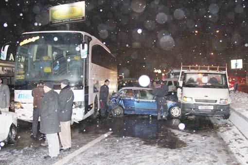 Başkentte trafik kazası 1