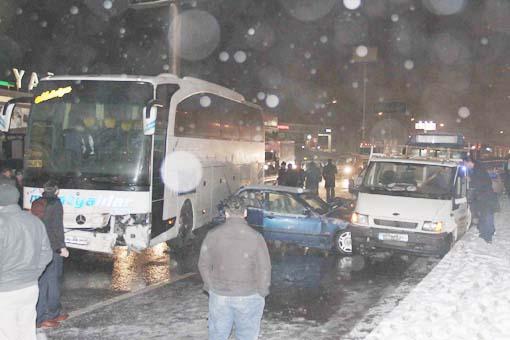 Başkentte trafik kazası 2