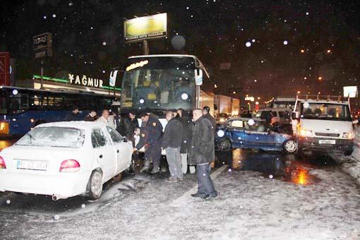 Başkentte trafik kazası 3