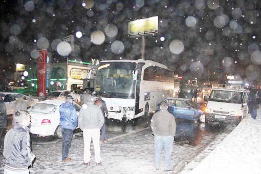 Başkentte trafik kazası 4